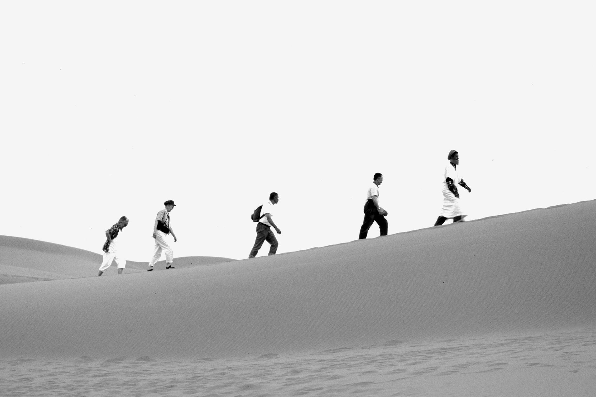 Wüstenbesucher, Marokko